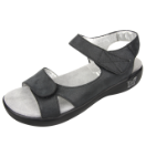 Alegria Joy Sandal for Women in Black Easy