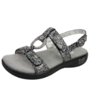 Alegria Julie Sandal for Women in Steel Rosette