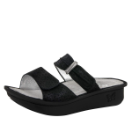 Alegria Karmen Sandal in Black Wavy for Women