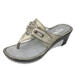 Alegria Lola Sandal for Women in Silver Glitter