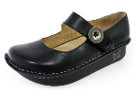 Alegria Paloma Black Nappa Shoe for Women