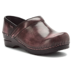 Sanita Professional Clog in Cabrio  Leather for Women Rose Cabrio-WIDE