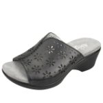 Alegria Sasha Sandal for Women in Black Burnish