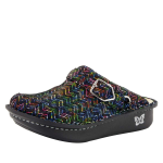 Alegria Seville Ric Rack Rainbow Clog for Women