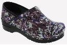 Sanita Professional Mosaic Print Clog For Women