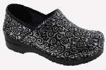 Sanita Professional Swirl Print Clog For Women