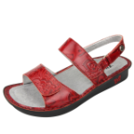 Alegria Verona Sandal for Women in Yeehaw Red