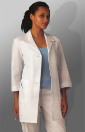 "META 33"" 3/4 Sleeve Lab Coat for Women"