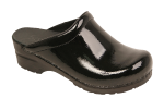 Sanita Sonja Clog for Women in Patent Leather