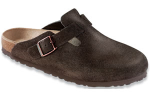 Birkenstock Boston Clog for Women in Mocha, Soft 41N