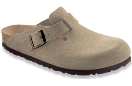 Birkenstock Boston Clog for Women in Taupe 36N