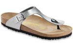 Birkenstock Gizeh Sandal for Children in Silver 30N