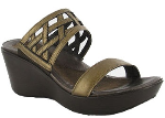 Naot Bonita Sandal for Women in Grecian Gold 41