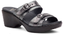 Dansko Jessie Sandal For Women in Pewter Multi 38