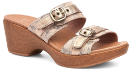 Dansko Jessie Sandal For Women in Taupe Marble 38