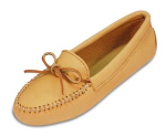 Minnetonka Double Deerskin Softsole Moccasin for Women