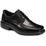 Ecco Helsinki Bike Toe Tie Dress Shoe for Men in Black 41