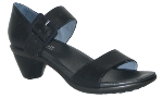 Naot Future Sandal for Women in Black Raven