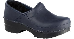 Dansko Gitte Clog for Kids in Blueberry Oil 30