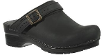 Dansko Ingrid Clog for Women in Oiled Full Grain Leather