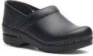Dansko Professional Clog for Women in Box Leather- Narrow Widths