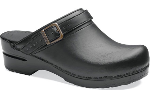 Dansko Ingrid Clog for Women in Box Leather