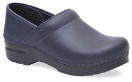 Dansko Professional Clog for Women in Blueberry Oiled Leather