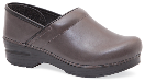 Dansko Professional Clog for Women in Charcoal Veg Leather 40-42