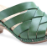 Dansko Tory in Green Veg-Tan Leather