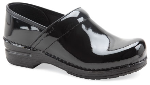 Dansko Pro XP Clog for Women in Black Patent Leather