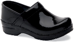 Dansko Professional Clog for Women in Black Patent Leather (NARROW)