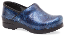 Dansko Professional Clog for Women in Textured Patent Leather in Wide Widths