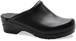 Dansko Sonja Clog for Women in Black Cabrio