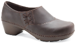 Dansko Stacie Clog for Women Brown Oiled 36