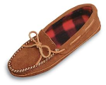 Minnetonka Double Bottom Fleece Slipper for Men
