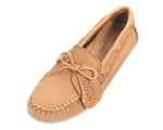 Minnetonka Moosehide Driving Moccasin for Men