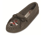 Minnetonka Thunderbird Softsole Moccasin for Women in Suede