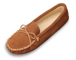 Minnetonka Traditional Pile Lined Softsole Slipper for Men