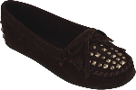 Minnetonka Double Studded Moccasins for Women