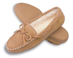 Minnetonka Pile Lined Hardsole Slipper for Men