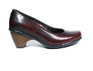 Dansko Remy Shoe for Women in Red Croc 42