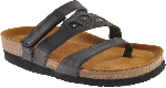 Naot Atlanta Sandal for Women in Brushed Black