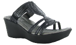 Naot Enchant Sandal for Women in Black Raven