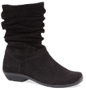 Dansko Olga Boot for Women in Black Suede 36,42