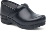 Dansko Pro XP Clog for Women in Black Box Leather