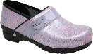 Sanita Professional Lindsey Croc Lilac KOI Clog for Women 36