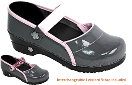 Sanita Demi KOI Clog in Navy Patent for Women 35 only