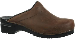 Sanita Sonja Clog in Oiled Leather for Women