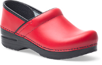 Dansko Professional Clog for Women in Red Box
