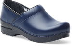 Dansko Professional Clog for Women in Dark Blue Box